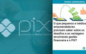 O Que Pequenos E Médios Empreendedores Precisam Saber Sobre Os Desafios E As Vantagens Envolvendo Gestão Financeira E O Pix Organização Contábil Lawini - Contabilidade no Rio de Janeiro | Souza Campos Soluções Contábeis